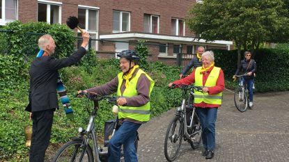 Video: Fanfare en priesterlijke zegening voor Limburgse fietstocht voor dementievriendelijkheid