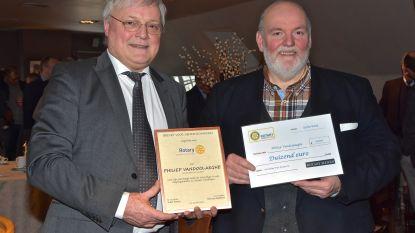 'Prijs Burgerzin' van Rotaryclub Menen voor Philiep Vandoolaeghe