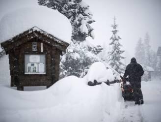 Nu al drie doden bij lawines in Zwitserland na hevige sneeuwval