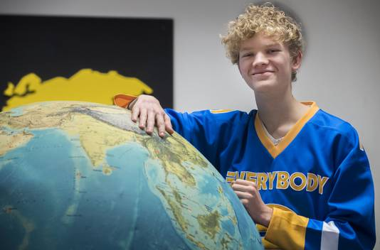 Jaap Schildkamp (19) heeft een tussenjaar gehad in Vietnam. Activity International.