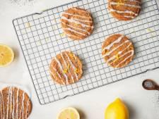Wat Eten We Vandaag: Chewy citroen-maanzaadkoekjes