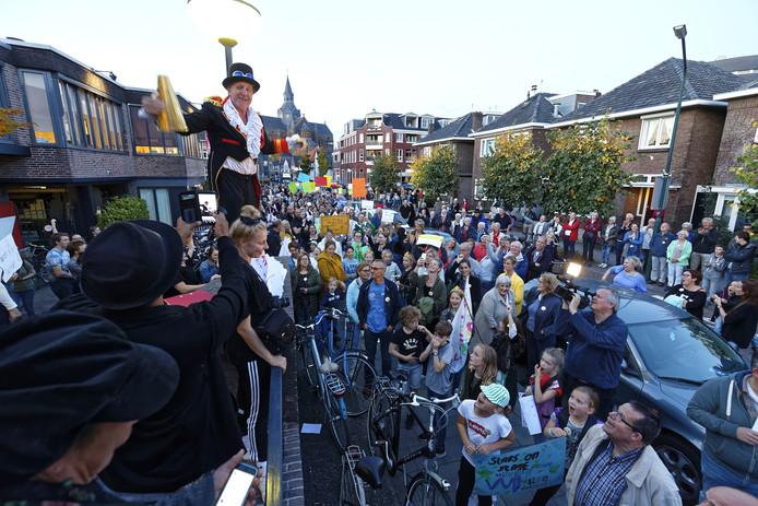 Vught protesteerde eerder al tegen de plannen voor De Speeldoos.
