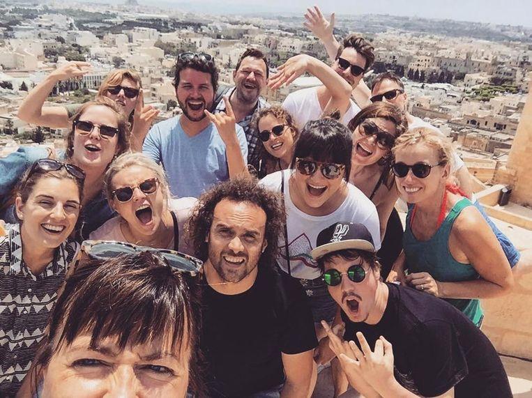 Koeken troef team op teambuilding op Malta