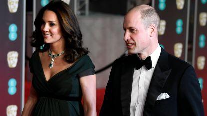 William benoemt #MeToo wél bij BAFTA's, ook al draagt Kate geen zwart