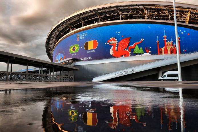De Kazan Arena was tijdens het WK decor van een aantal duels.