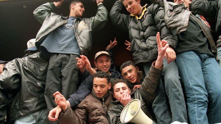 Marokkaanse jongeren uit West Beeld anp