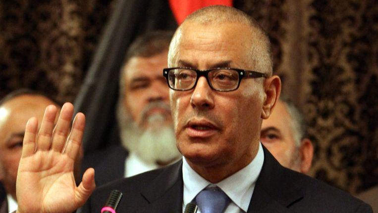 De Libische premier Ali Zeidan Beeld epa