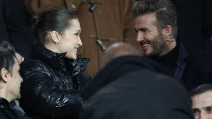 En toen had David Beckham geen oog meer voor de bal
