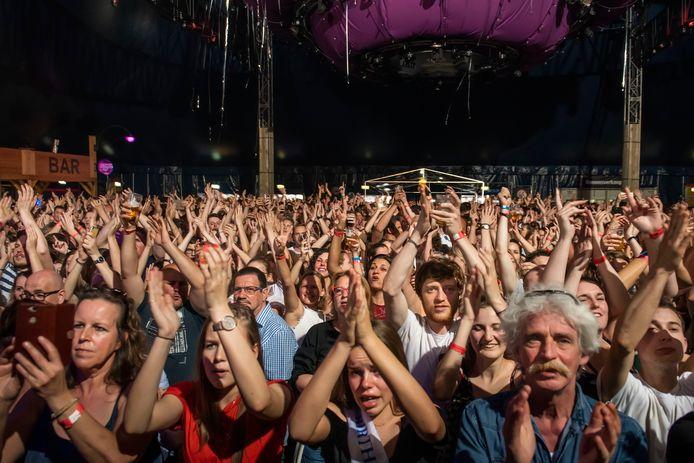 Den Hout - Paaspop Den Hout tijdens de jubileumeditie in 2019.