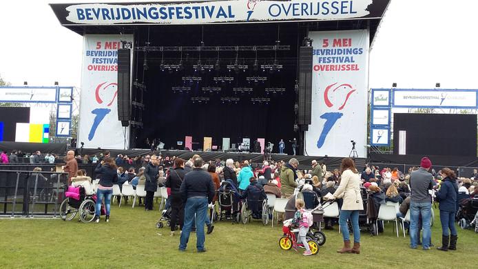 De start van het festival.