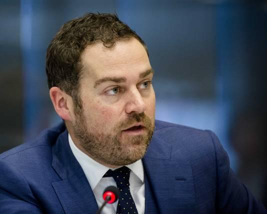Staatssecretaris Klaas Dijkhoff van Veiligheid en Justitie.