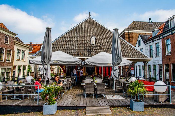 Eethuis De Waag in Schoonhoven.