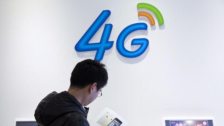 Het 4G-netwerk kan storingen opleveren bij digitale kabeltelevisie. Beeld ap