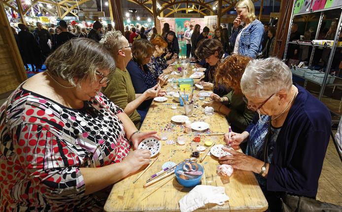 margriet winterfair workshop 'stip je servies'