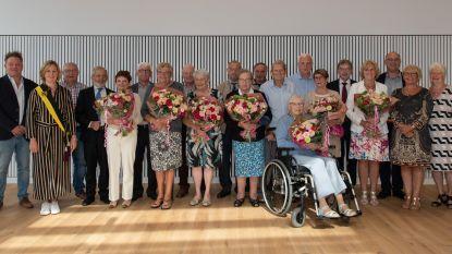 Koppels vieren jubileum in het gemeentehuis