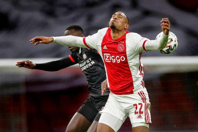 Haller tegen PSV.