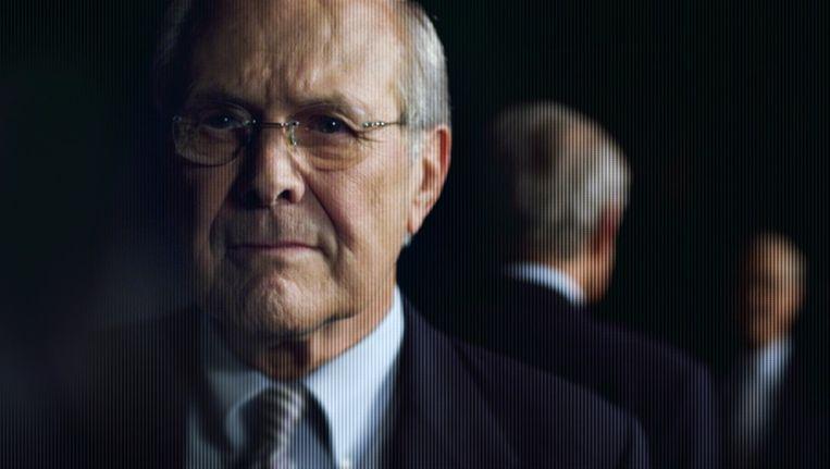 Donald Rumsfeld in 'The unknown known' Beeld IDFA