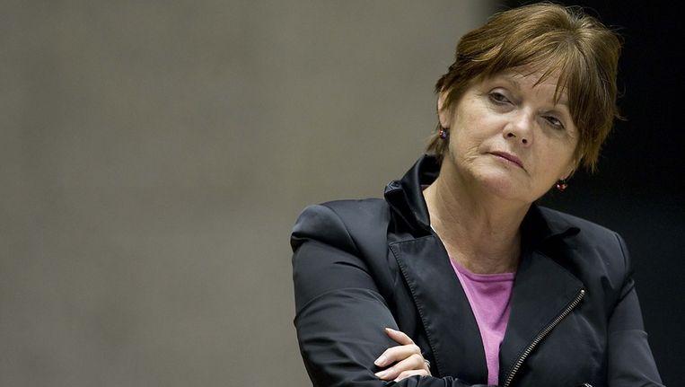 Ella Vogelaar: Ik doe dit in het belang van het bedrijf, maar ook van Amsterdam. Dit is voor niemand goed. © ANP Beeld