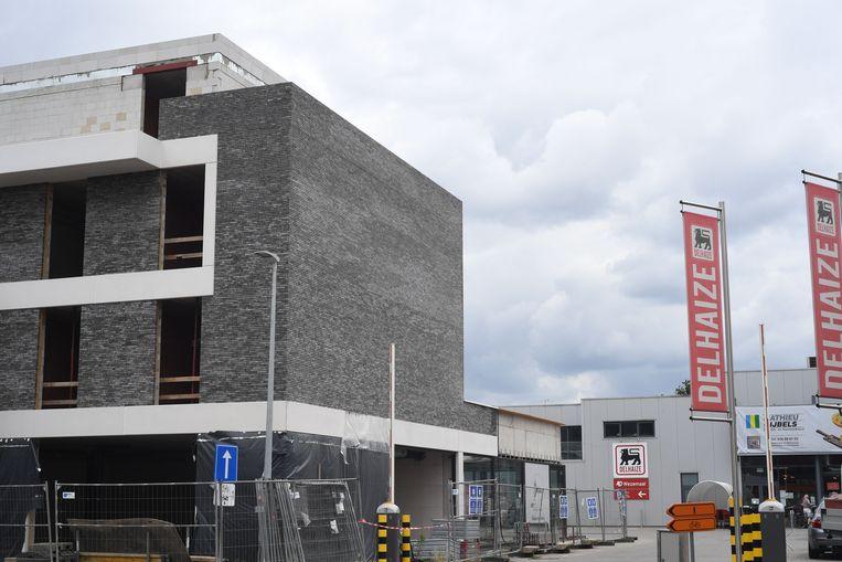 De uitbreiding van de site aan de AD Delhaize in Wezemaal.