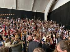 Verzamelde prinsen eensgezind: het is carnaval en geen 'Verkleedfeest'