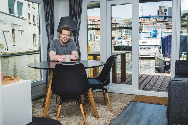 Frederic Hauttekeete is eigenaar van 'Vakantieverblijf Romain'.