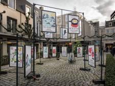 Australische kunstenaar zorgt voor verzetje op Winkelhof 't Sas in Breda