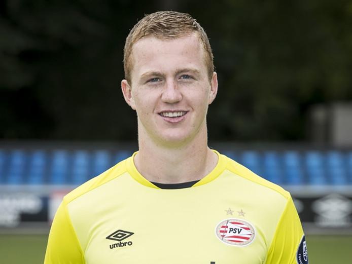 Yanick van Osch keept vrijdag naar verwachting in het thuisduel van Jong PSV met Telstar.