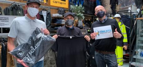 1.000 kits pour les sans-abris distribués à huit associations de Liège et Bruxelles