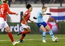 Vivianne Miedema schiet de 0-1 binnen en maakt aan alle twijfels een eind.