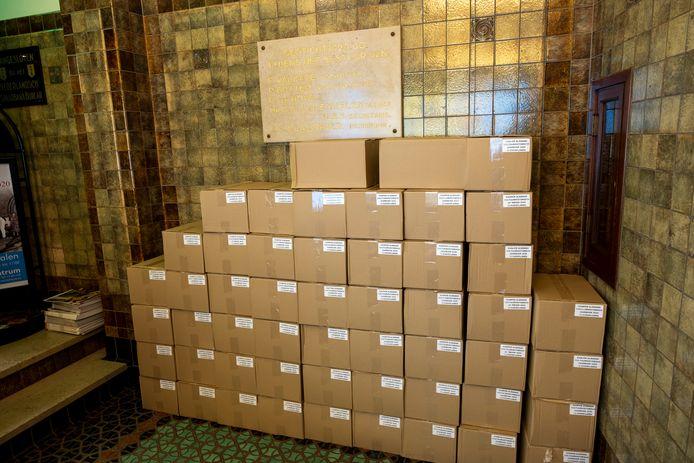 Op 23 juli had het SNS Historisch Centrum nog duizenden exemplaren van de Kamper Almanak in voorraad.