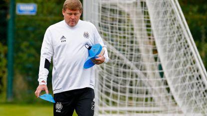 De eerste training van Hein Vanhaezebrouck bij Anderlecht in 25 beelden