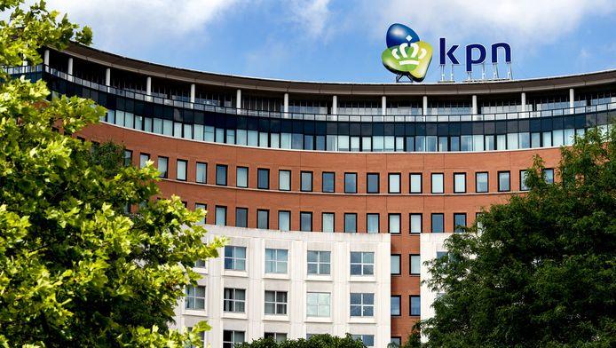 Het hoofdkantoor van KPN in Den Haag.