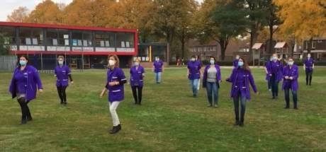 Een dansje omdat het allemaal zo moeilijk is: de Jerusalema Challenge in Enschede