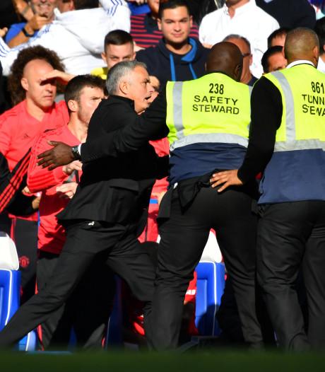 Mourinho krijgt geen straf voor uitbarsting tegen Chelsea