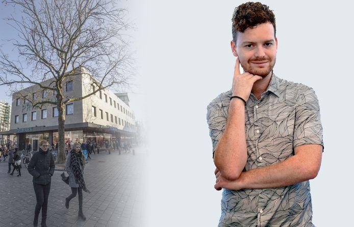 De Primark in Eindhoven. Zoiets moet Roosendaal niet willen, vindt Freek Verhulst.