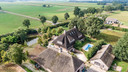 Het landgoed in Witharen waar Robert-Jan Mastenbroek, eigenaar van Dream or Donate, zou wonen.