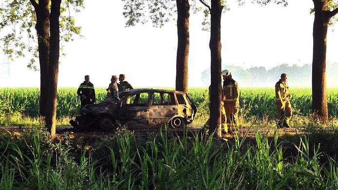 Bij het ongeluk op 29 juni in Dalen raakten drie jongeren gewond.