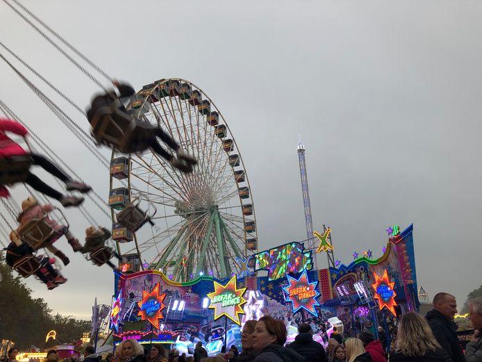 Spektakel op de kermis in Bocholt.