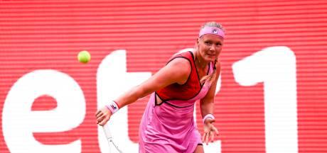 Afwezigheid op US Open kost Bertens plek op wereldranglijst