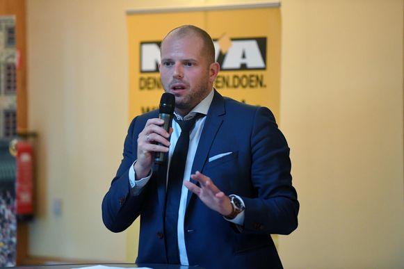 Theo Francken (N-VA) kreeg enkel tegenwind van Groen voor het voorstel.