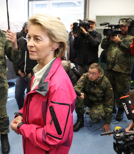 Duits leger assisteert bij grote heidebrand grensgebied