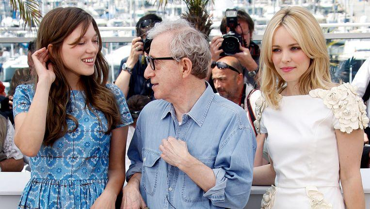 Woody Allen met Lea Seydoux en Rachel McAdams