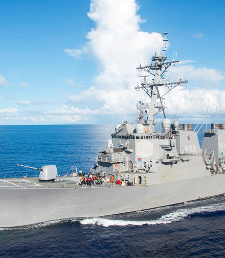 Amerikaanse mariniers vermist na botsing torpedojager bij Singapore