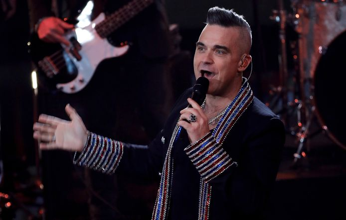 Archiefbeeld. De Britse zanger Robbie Williams. (07/12/2019)