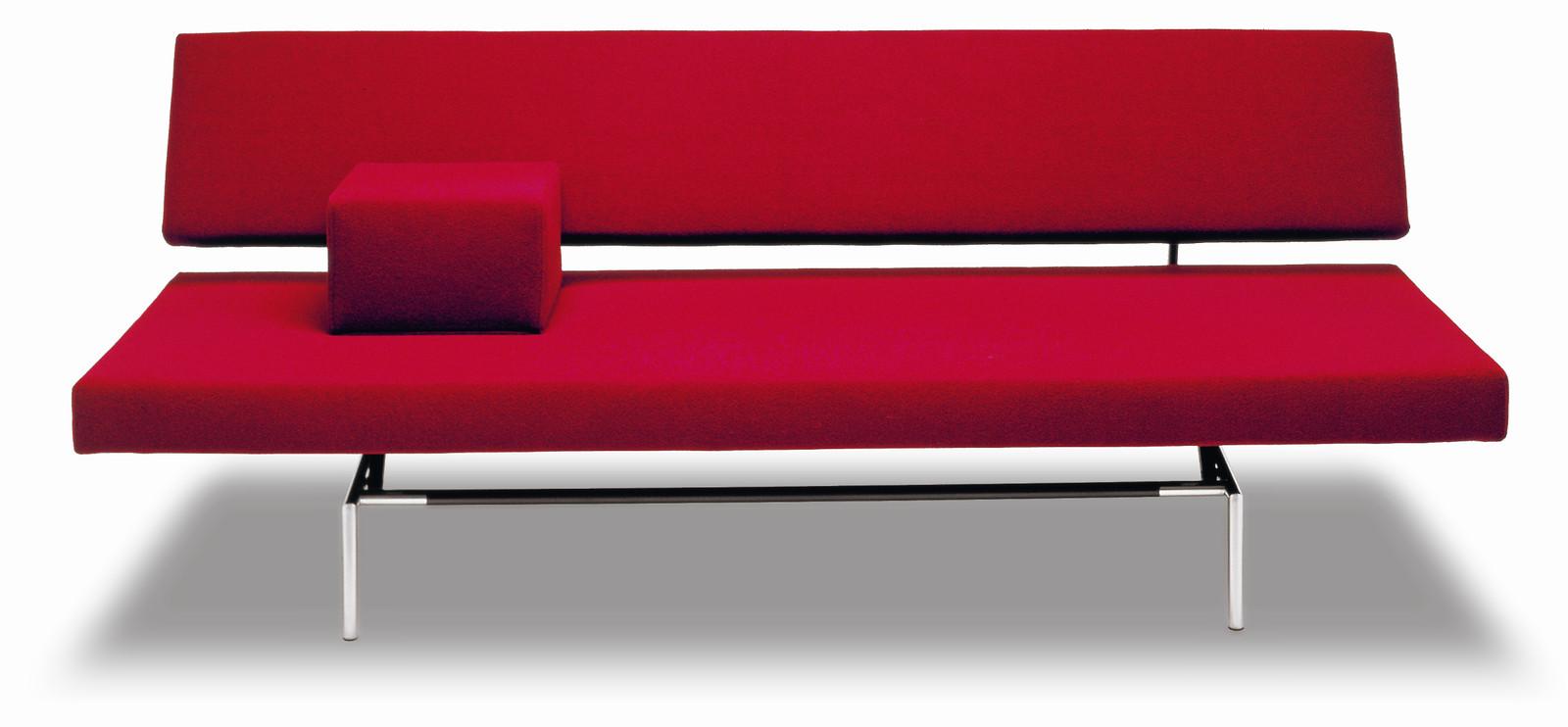 De slaapbank BR 02 van Martin Visser bij Spectrum, zijn bekendste ontwerp.
