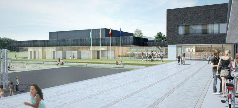 Zo zal het nieuwe zwembad in Ronse eruitzien.