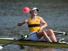 Eindelijk goud voor Eindhovense roeister Lisa Scheenaard