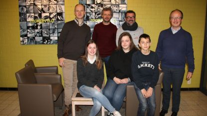 Luca (13) is 800ste leerling 't Saam campus Cardijn