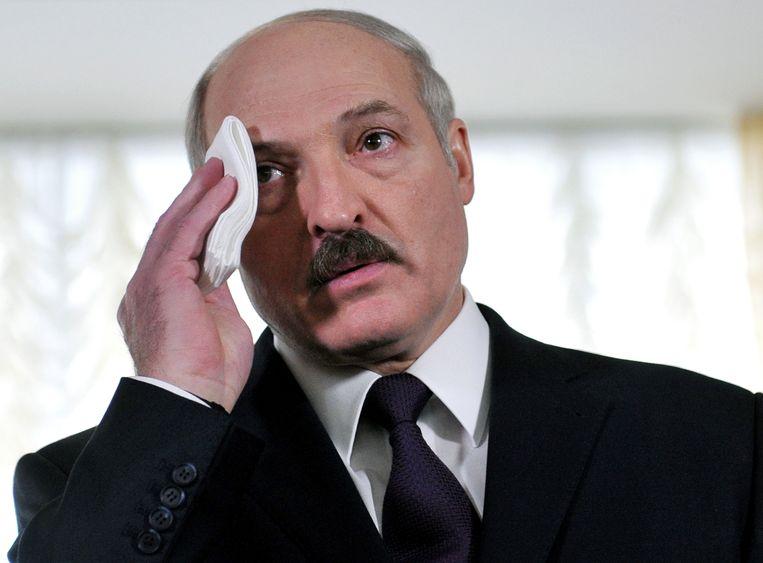 President Loekasjenko. Beeld Hollandse Hoogte / AFP