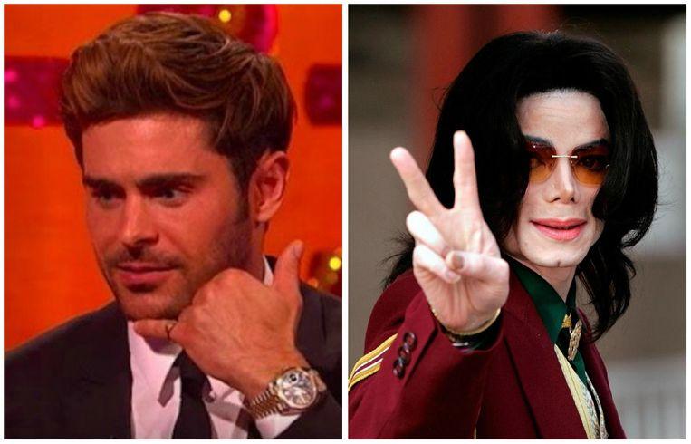 Zac Efron en Michael Jackson
